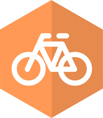 badge PREMIUM FOR THE USE OF GREEN TRANSPORTATION